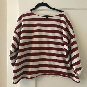 NWOT J Cree striped top